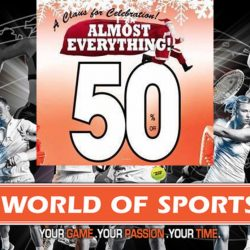 World of Sports: Festive Sale with 50% OFF Almost EVERYTHING!