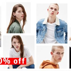 Bershka: Year End Sale up to 50% OFF