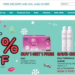 Watsons: Coupon Code for $5 OFF Your Online Purchase!
