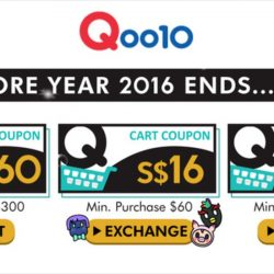 Qoo10: Up to $60 Cart Coupons Up for Grabs & 2017 Year End Finale Sale!
