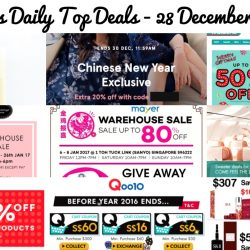BQ's Daily Top Deals: Chun Cui He Milk Tea Relaunch, Qoo10 Cart Coupons, 20% OFF Zalora CNY Exclusive Pieces, Cotton On End Season Sale, Little Match Girl Warehouse Sale, Mayer Warehouse Sale & More!