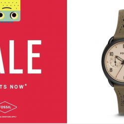 Aptimos: Boxing Day Sale with 30% OFF on All Fossil Watches