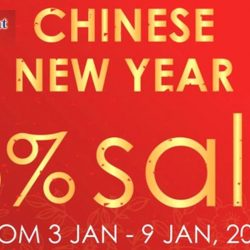 Phoon Huat: Storewide CNY Sale at All Outlets - 15% OFF All Items