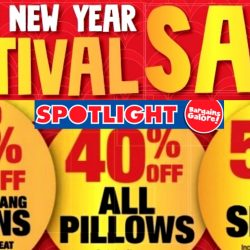 Spotlight: Chinese New Year Festival Sale Up to 60% OFF Venetian Blinds, Fabrics, Curtains, Bedsheets, Pillows & More!