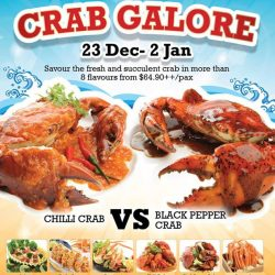 [Kuishin Bo Authentic Japanese Buffet] Ho ho ho! Celebrate Christmas by indulging in a Crab Feast at Kuishin Bo Suntec City from now till 2