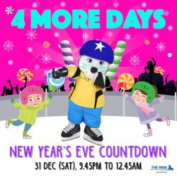 [THE RINK] With only four more days to our New Year Countdown Party, get your party skates ready for a night full