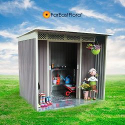 [Far East Flora] Get your gardening equipment organised! Garden sheds are the ideal solution for storage of tools and equipment.Get yours today.
