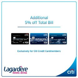 [Citibank ATM] Now is the perfect time to do post-Christmas shopping! Get up to 90% off luxury brands such as Hugo