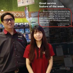 [Home-Fix Singapore] Before the year ends, we are proud to present 3 of our front line staffs, Kamal, James and Lauren for