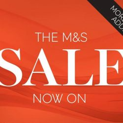 [Marks & Spencer] The M&S Sale continues with more lines added. Enjoy up to 50% OFF* selected items.*Exclusions, terms & conditions apply.