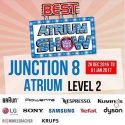 [Best Denki] Visit our Atrium Show at Junction 8 (Level 2) for the most electrifying deals! Click to see our participating brands.