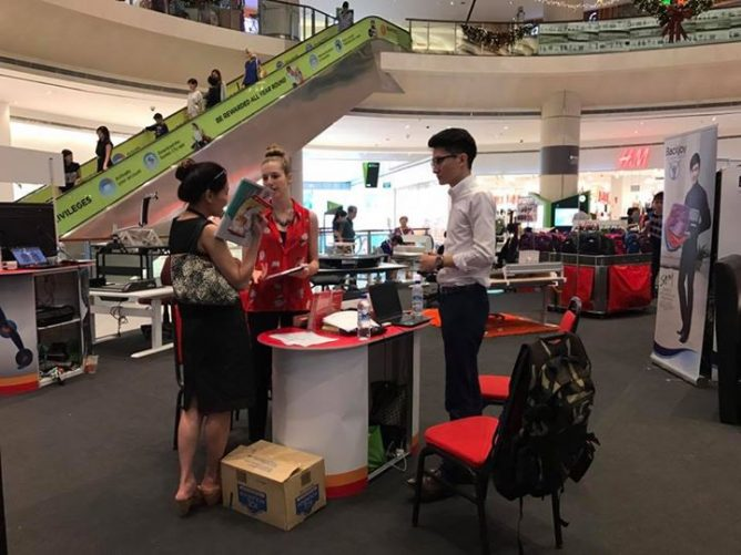 Come to our bi-yearly BackJoy Wellness Fair @ Suntec City West Atrium  (Convention Centre) to enjoy attractive promotions and new posture products  !