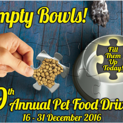 [Pet Lovers Centre Singapore] Be a kind soul with the 9th Annual Pet Food Drive! A little New Year wish from 3 animal welfare