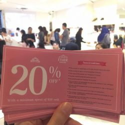 [Melissa] 20% off at Etude House? Yes please! Shop now in MDREAMS Wheelock Place to get yours! 😜 #melissashoessg #etudehousesingapore