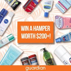 [Guardian] We saved the best for last! WIN* a hamper worth more than $200 when you simply,1. Follow us on