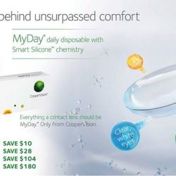 [Optique Paris-Miki] Discover the science behind unsurpassed comfort with the new MyDay contact lenses from CooperVision. The more you buy, the more