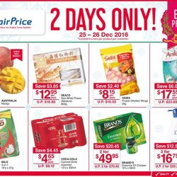 [NTUC FairPrice] For this long weekend, we've not one, but TWO Day Specials - just for you ;) Head down to any outlet