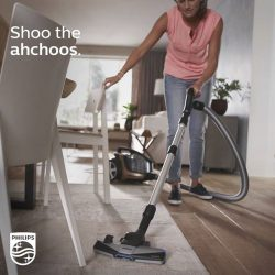 [Philips] Begin 2017 in a safe anti-allergy environment for your family with the Philips PowerPro Ultimate Bagless vacuum cleaner.This
