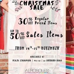 [Aerosoles] MERRY CHRISTMAS!For two days only! Get 30% off regular priced items and up to 50% off sales items in