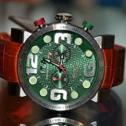 [TVG] TVG, Where addiction starts.. Bringing forth statement timepieces for the demanding youITA B.Compax Green SOLD OUT!!!He has