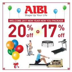 [AIBI] Happy New Year 2017! Call 6533 8555, 6844 9581, 6894 5655, 6899 1190 http://www.aibifitness.com/consumer/promotions/