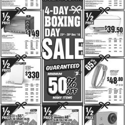 [Harvey Norman] We know it's a little early, but we can't wait but to start our boxing sale today! 4