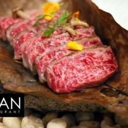 [The Clan Restaurant] How about some of our Signature Wagyu Beef Loin for lunch today? Use your AMEX cards on ala carte orders