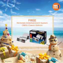 [MUJI to GO] Get a FREE limited edition Nintendo Entertainment System (NES) Classic Edition with any Fibre Broadband 1Gbps and above plan sign-