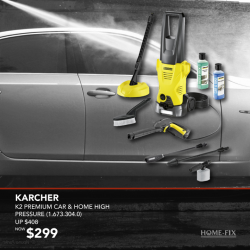 [Home-Fix Singapore] It's time to reward the man in your life! The K2 Premium Home Pressure Washer is a lightweight and