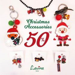 [Lavina] It's the Final Hours Sale for Christmas Gifts! All Christmas Accessories are 50% off, everything while stocks last!