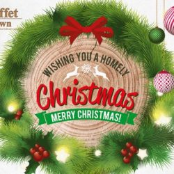 [Buffet Town] Good cheer, great hope and the best that the Christmas season has to offer for you and your family as