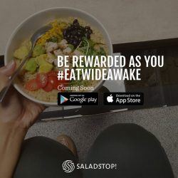 [Salad Stop] Get more exciting rewards as you #eatwideawake!