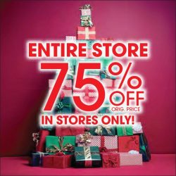 [Aeropostale] Last shopping day before Christmas! Visit your store for amazing savings!