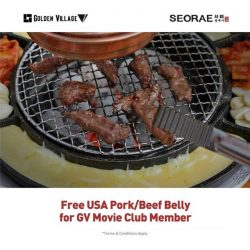 [SEORAE] Hello GV members, we have special treat for you!Enjoy FREE US Pork/Beef belly only at Seorae Korean Charcoal