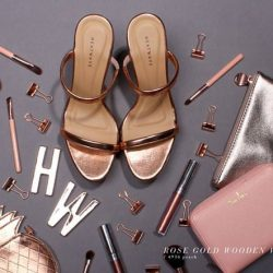 [Heatwave] One of our signatures, the wood wedge. Now in minimalist chic rose gold. Available in stores! #newarrivals . . . #HeatwaveShoes #empoweredjourneys #empoweringwomen #
