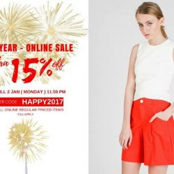 [MOSS] New Year Sale is On!Enjoy extra 15% off* on all online regular priced item till 2 Jan ( Mon ) 11.
