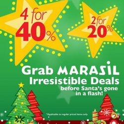 [Marasil] Grab some Marasil merchandise with great discount offers now at:MAISON MARASIL Marina Square, 6 Raffles Boulevard, #02-19 Singapore