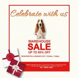 [Hush Puppies Singapore] Celebrate with us at the warehouse sale! We are open on Christmas day!