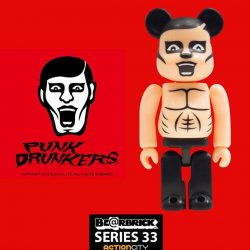 "[Action City] Their motto is ""Uncool is Cool"" - Chase this bare body BE@RBRICK from the Punkdrunkers!Follow us on Facebook as"