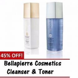 [BELLAPIERRE] Amazing offer for our Cleanser & Toner set and many more crazy discount now at our Lazada.SG page. http://www.