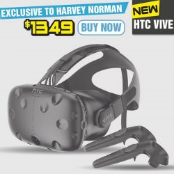 [Harvey Norman] Exclusive at #HarveyNormanSG! Purchase the new HTC Vive and receive 2 free games! Stocks available in-store now, just in