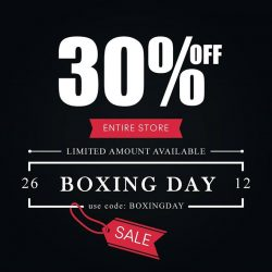 [LOVFLAUNT] Christmas may be over, but that doesn't mean we stop giving you treats! Take 30% off storewide today! Simply