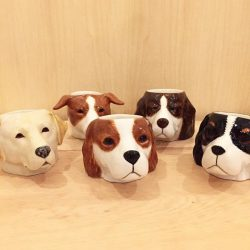 [The Little Drom Store] Doggie egg cups, one for $12, 2 for $20. #closingsale