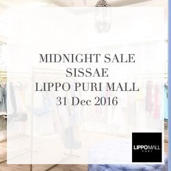 [Sissae] Come and enjoy up to 40% disc only at Sissae Lippo Mall Puri ✨