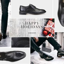 [GEOX] For the discerning gentleman – refined and sophisticated shoes that bring a contemporary twist to formal wear. The ideal choice for