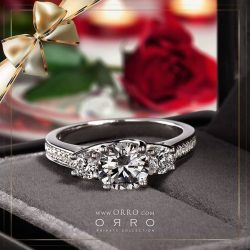 [ORRO Jewellery] Celebrate the New Year Holiday season with Romance.★ New Year SALE ★A ring, a gift from the heart. Born out