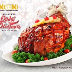 [Kiseki Japanese Buffet Restaurant] No Christmas is complete without roast turkey and gammon ham, heartwarming festive spread, Yuletide log cake and most importantly, the