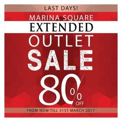 [Home-Fix Singapore] Due to overwhelming response, we had decided to extend our Marina Square Outlet sales, so head down to Marina Square