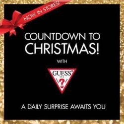 [GUESS Singapore] COUNTDOWN TO CHRISTMAS WITH GUESS! Check out our ONE DAY ONLY exclusive offers in-stores.Click here to find out