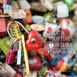 [Changi Recommends] For the lovebirds: Pledge your love and start the year together with anew each other at the N Seoul Tower.